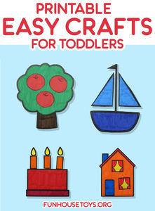 photograph about Printable Crafts named 4 Straightforward Printable Crafts for Infants