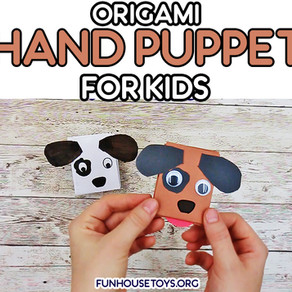 Origami Hand Puppet Craft