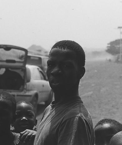 tall Guinean boy