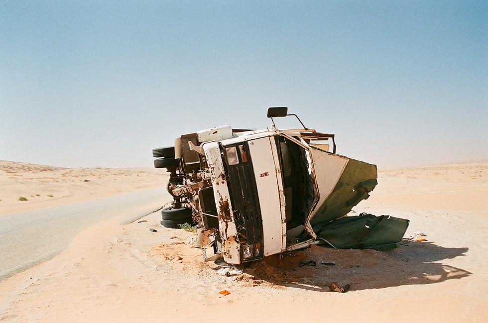 crashed truck II