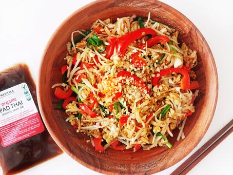 Quick Vegan Pad Thai