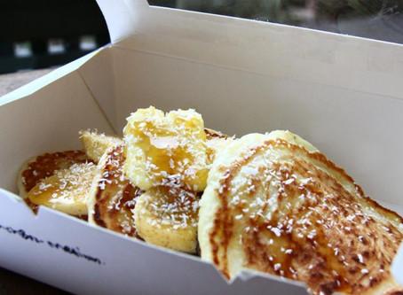 Coconut Pancakes With Longan Honey