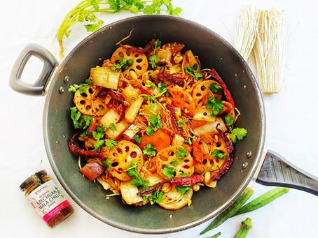 Ma La Xiang Guo (Szechuan Fragrant Stir Fry)