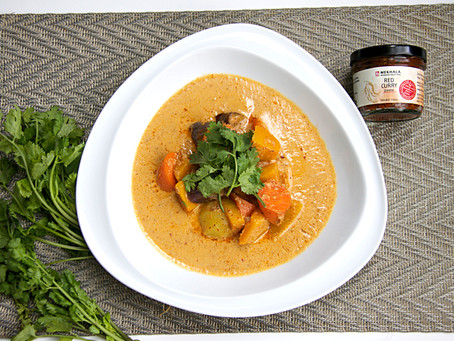 Chunky Vegetable Red Curry