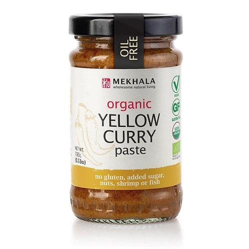 Organic Thai Yellow Curry Paste 100gm/3.53oz