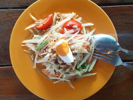 Som Tam Ago, I Fell For Larb Woon Sen Salad