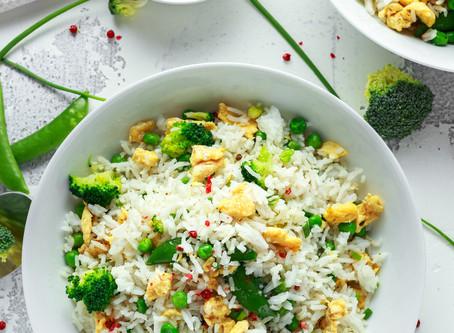 Coriander Ginger Vegetarian Fried Rice