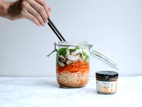 Tom Yum Vegetarian Noodles
