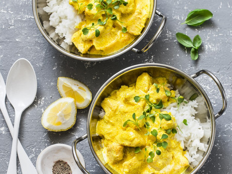 Lemongrass Turmeric Salmon Curry