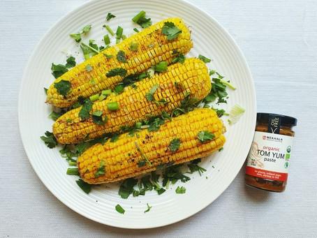 Tom Yum Butter Baked Corn