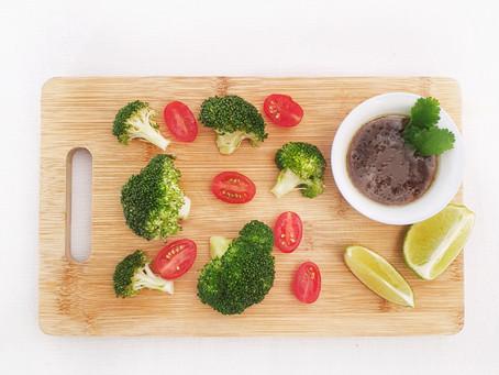 Healthy Asian Veggie Sharing Plate