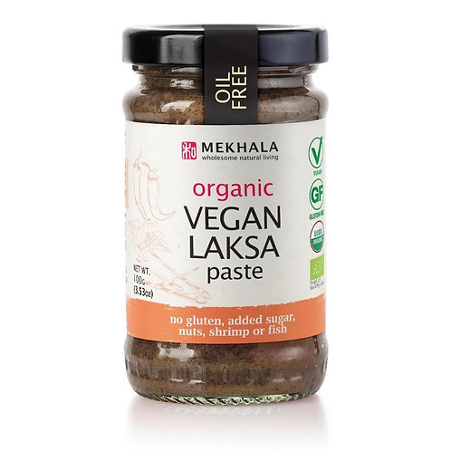 Organic Vegan Laksa Paste 100gm/3.53oz