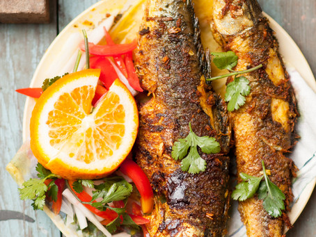 Barbecued/Roasted Lemongrass Turmeric Fish