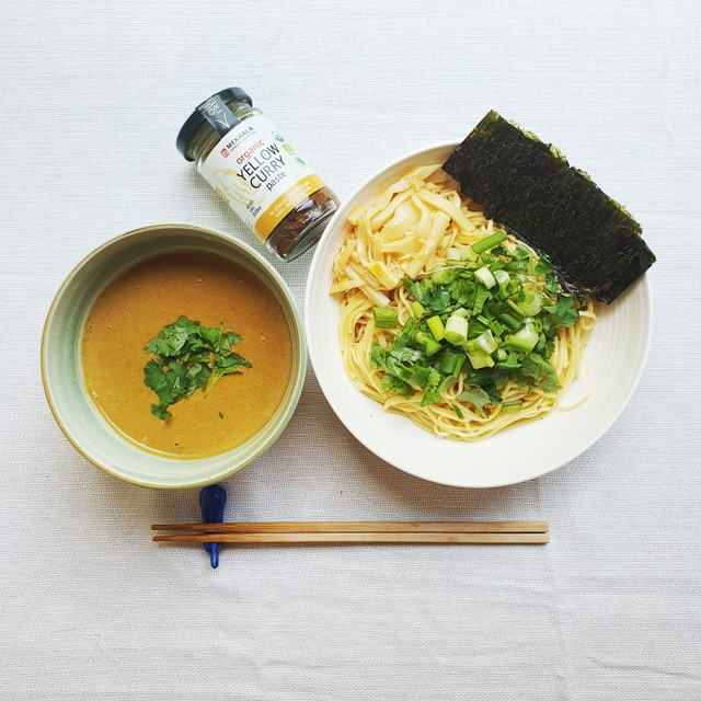 Yellow Curry Japanese Ramen Noodle