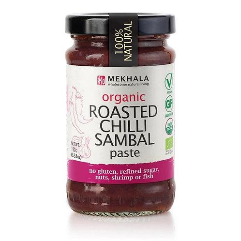 Organic Roasted Chilli Sambal Paste 100gm/3.53oz