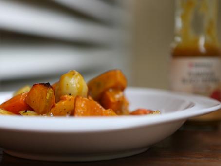 Roast Vegetable With Pumpkin Dressing