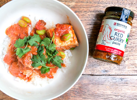 Low Fat Snapper Red Curry