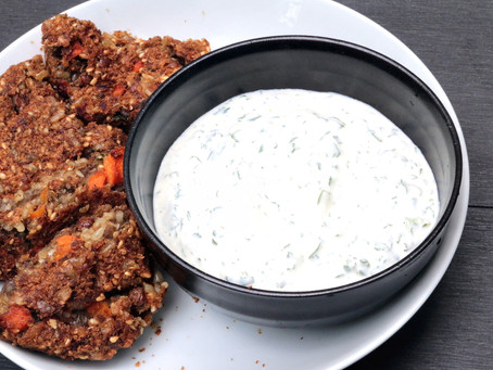 Coriander Ginger Dip for A Cool Summer