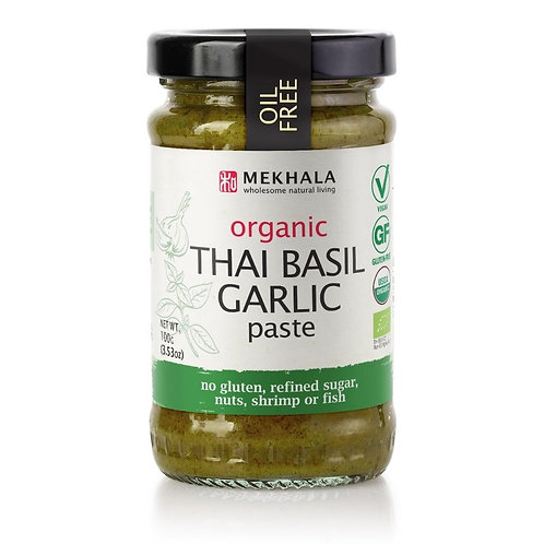Organic Thai Basil Garlic Paste 100gm/3.53oz