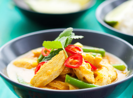 Chicken Red (or Green) Curry