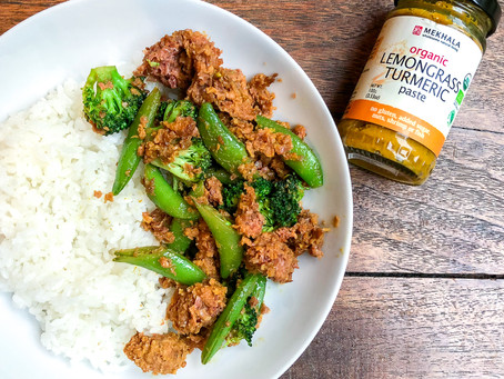 Lemongrass Turmeric Quick Stir Fry