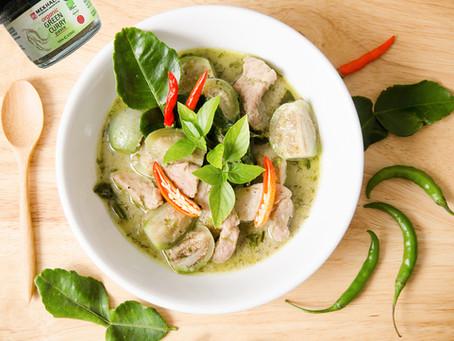 Pork/Chicken Green Curry
