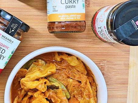 Tofu & Vegetable Curry (Sayur Lemak)