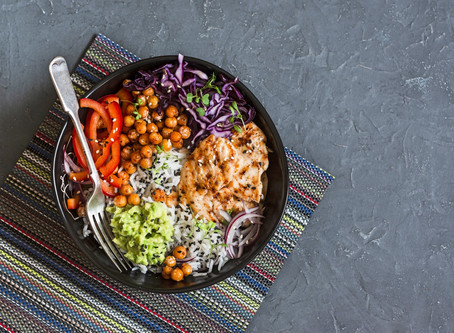 Spiced Poke Bowl