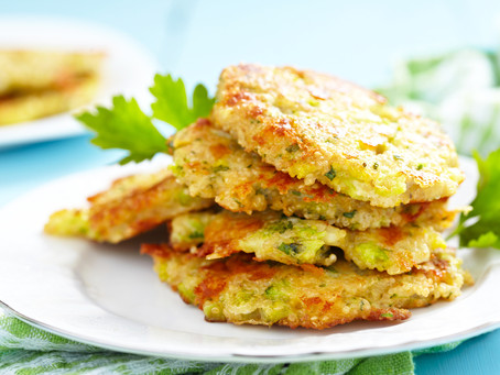 Aromatic Broccoli Fritters