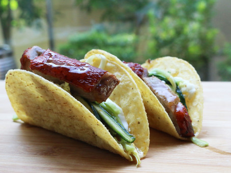 Crispy Roasted Duck Tacos