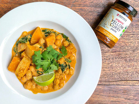 Pumpkin Chickpea Yellow Curry