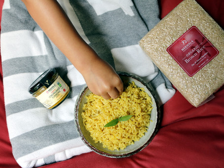 Lemongrass Turmeric Rice