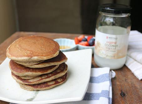 The Breakfast Series: Gluten-free Cinnamon Pancakes