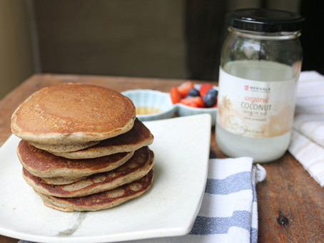 The Breakfast Series: Gluten-free Cinnamon Pancakes