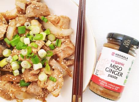 Miso Ginger Stir Fry Pork (Buta Miso Shougayaki)