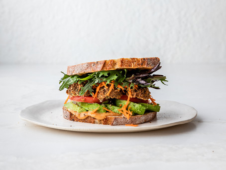 Yellow Curry Picnic Sandwich