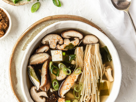 Cheery Miso Ginger Soup