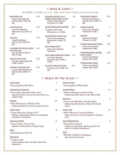 Fall  Winter 2020 Beer  Wine List_page-1