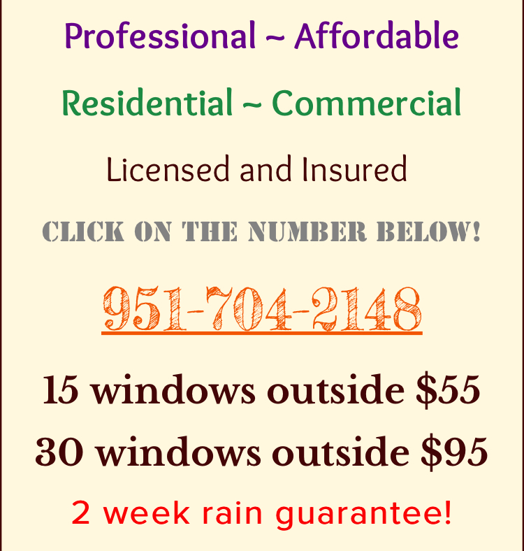 Murrieta Window Cleaning All About Windows Window Cleaning