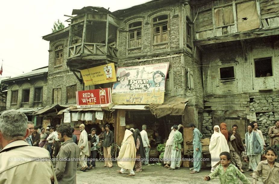 Srinagar street scenes