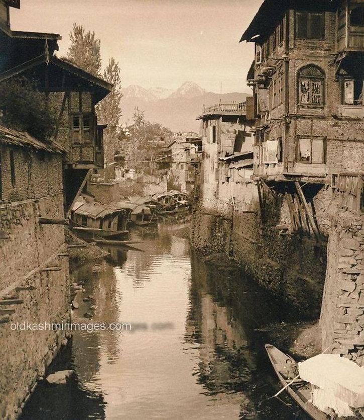 1917 Nalamar Canal, Srinagar Kashmir.jpg