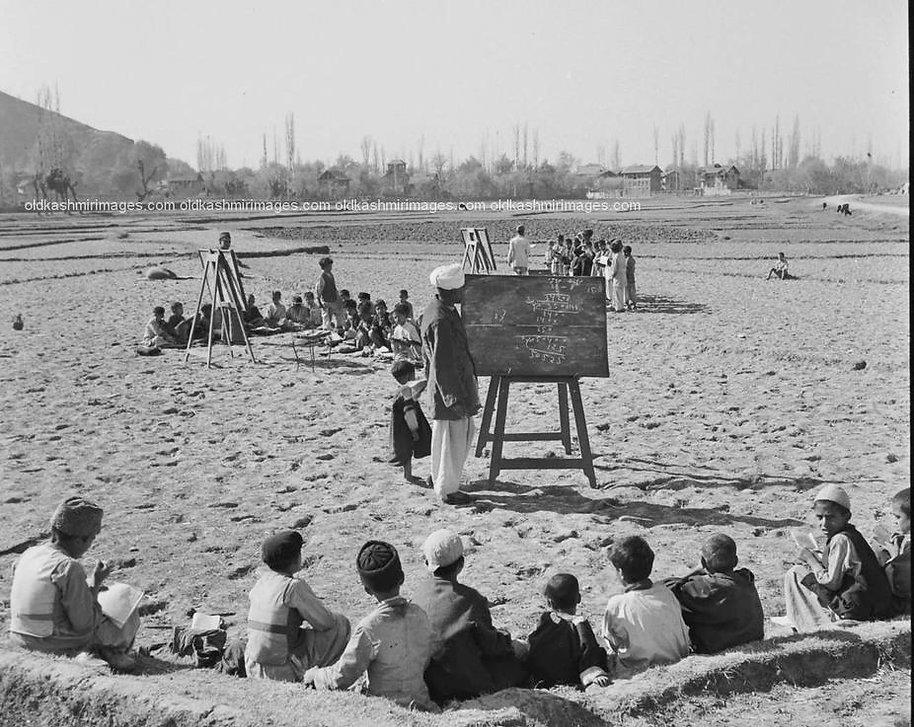 1951 A Mathematics class