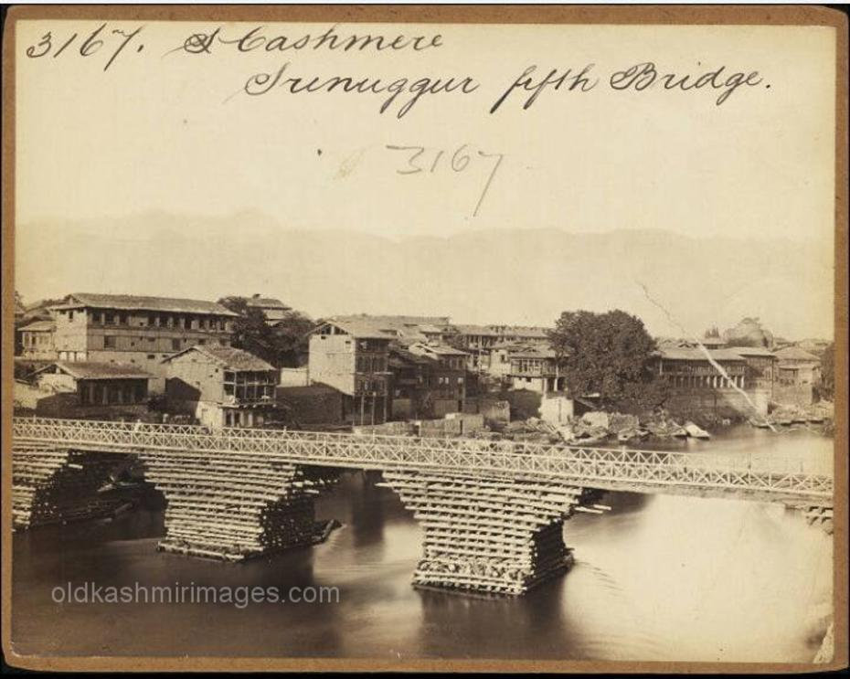 1870 Ali Kadal Kashmir