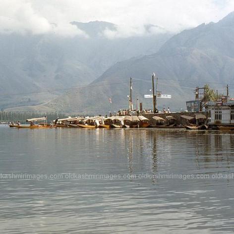 Dal Lake Srinagar, Kashmir 1970s