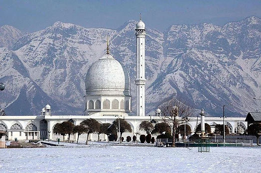 Hazratbal Shrine Jammu And Kashmir.