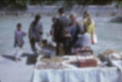 Nut Seller 1970, Srinagar Kashmir