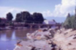 1969 River Jehlum and Budshah bridge, Sr