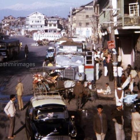 1972 Srinagar kashmir Lal Chowk