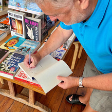 book signing, malvern1