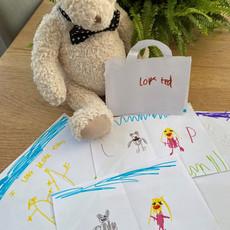 Etwall School Visit - gifts from the children.jpg
